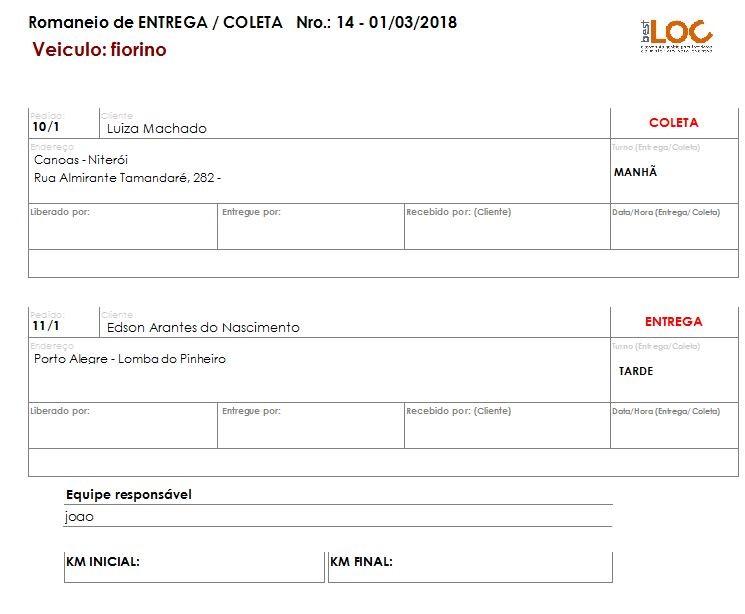 Módulo Logística